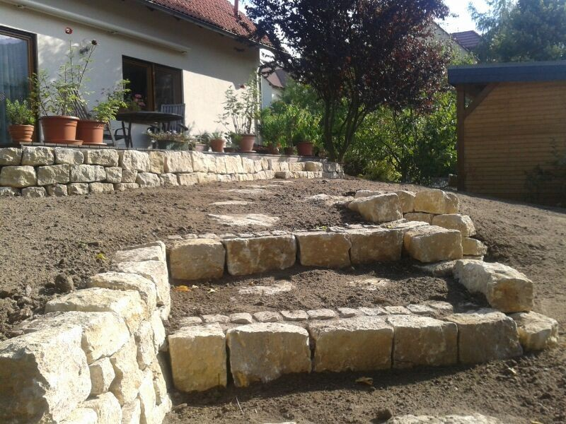Artes agri gartengestaltung gmbh referenz - Naturstein gartengestaltung ...